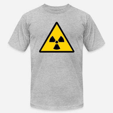 Atomic Energy nuclear warning - Men's  Jersey T-Shirt