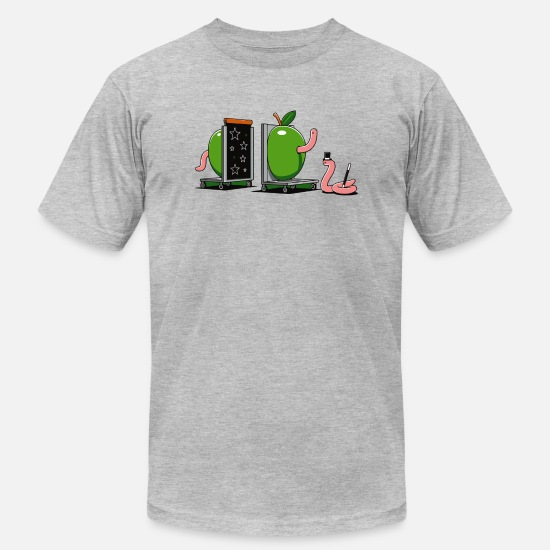 Game T-Shirts - Worm Magic - Men's Jersey T-Shirt heather gray
