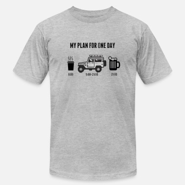 Addicted Cars car addiction - Men's  Jersey T-Shirt