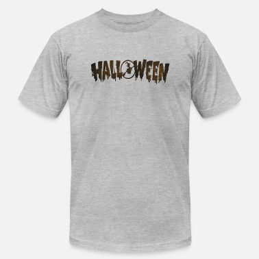 Witch Creepy Halloween Witch Spooky Creepy - Men's  Jersey T-Shirt