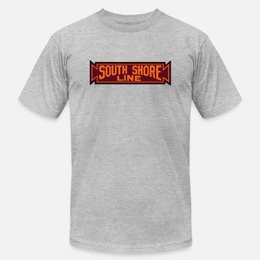 South Shore échapper à la ville graphique homme à manches courtes T-Shirt-Blanc