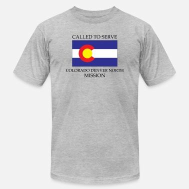 Serve Colorado Denver North LDS Mission Called to Serve - Unisex Jersey T-Shirt
