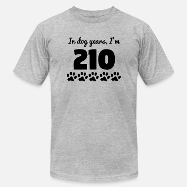30th Bday Dog Years 30th Birthday - Men's  Jersey T-Shirt