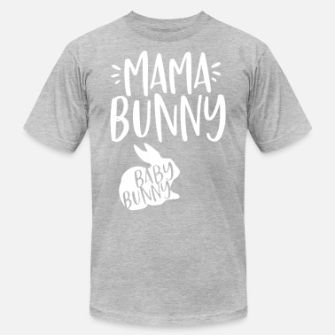 Bunny Daddy Mama Bunny Baby Bunny Funny Couple Gift - Men's Jersey T-Shirt
