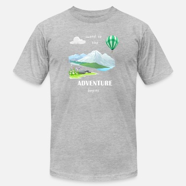 ADVENTURE - Men's Jersey T-Shirt