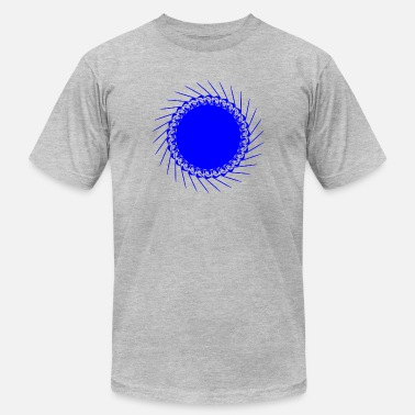 The abstract shape. - Men's  Jersey T-Shirt