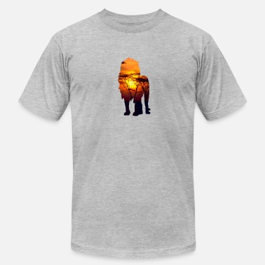 Savanna Lion Savanna Africa - Men's Fine Jersey T-Shirt
