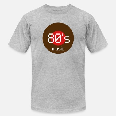 80s Music 80s music - Men's  Jersey T-Shirt