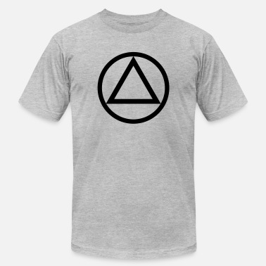 Recovery Symbol The Circle and Triangle of Recovery - Men's  Jersey T-Shirt