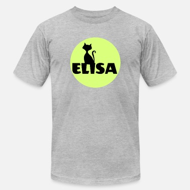 Elisa Elisa first name - Men's Fine Jersey T-Shirt
