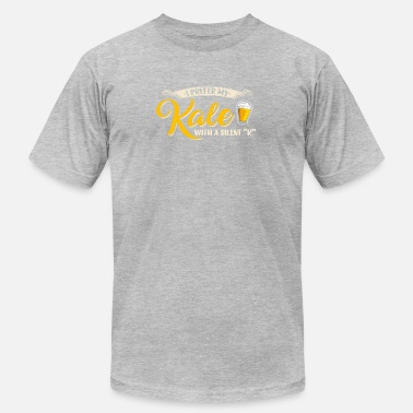 Kale I Prefer My Kale With A Silent K T Shirt Funny Bee - Men's  Jersey T-Shirt