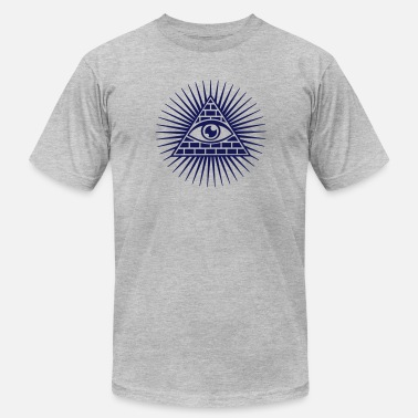 Horus eye of providence, pyramid, all seeing eye, god - Men's Jersey T-Shirt