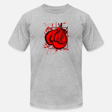 Blood Boxing Blood Boxing Tee Shirt - Men's Fine Jersey T-Shirt