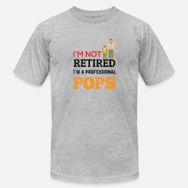 Retiret retired grandpa professional pops - Men's Jersey T-Shirt