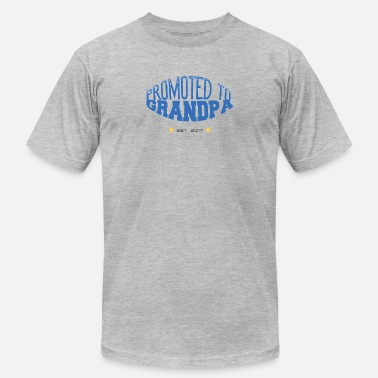 Promoted To Grandpa Promoted To Grandpa - Men's  Jersey T-Shirt
