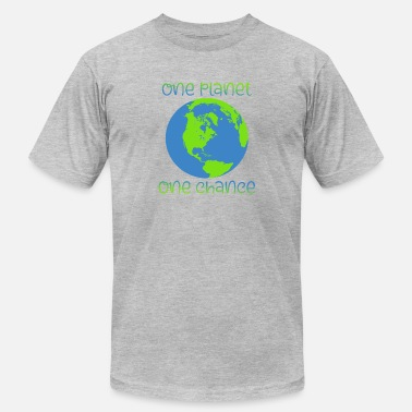 One Planet one Planet - Men's Jersey T-Shirt