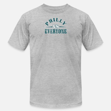 Philly Vs Philly Vs Everyone Vintage Distressed Graphic - Men's  Jersey T-Shirt