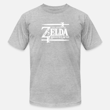 Breath-of-the-wild Nintendo Zelda Breath of the Wild Official Game Lo - Men's  Jersey T-Shirt