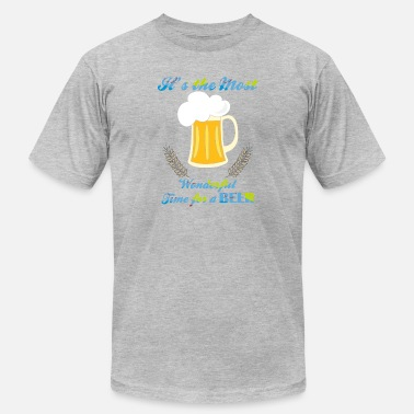 Its Time Its The Most Wonderful Time For A Beer - Men's  Jersey T-Shirt