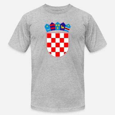 Usta Coat of arms of Croatia Hrvatska - Men's Jersey T-Shirt
