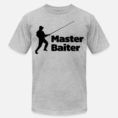 eeafb041 Master Baiter Funny Fishing Master Baiter - Men's Jersey T-Shirt