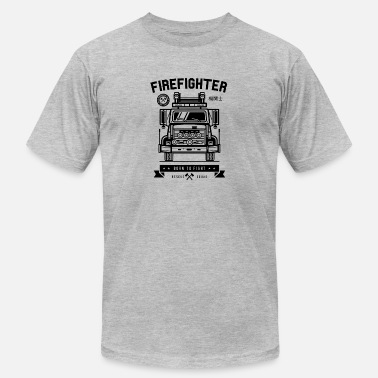 Fight Squad Firefighter - Men's  Jersey T-Shirt