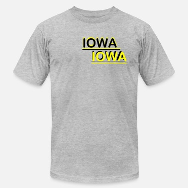 Iowa Football Iowa Iowa - Men's Jersey T-Shirt