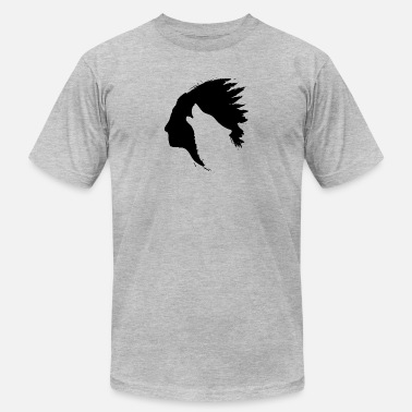 Indian Indian Howling Wolf Silhouettes - Men's  Jersey T-Shirt