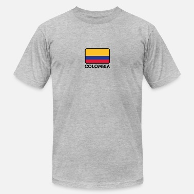 Cocaine Cycling National Flag Of Colombia - Men's  Jersey T-Shirt
