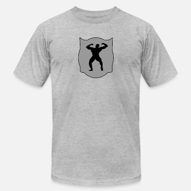 Muscles Logo muscle logo - Men's  Jersey T-Shirt