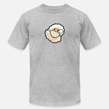 Oyster SmileyWorld Smiling Oyster - Men's  Jersey T-Shirt