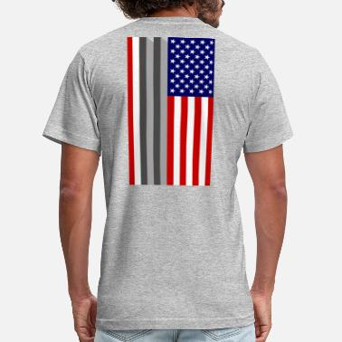 World Trade Center USA Flag - 9/11 World Trade Center Tribute - Unisex Jersey T-Shirt