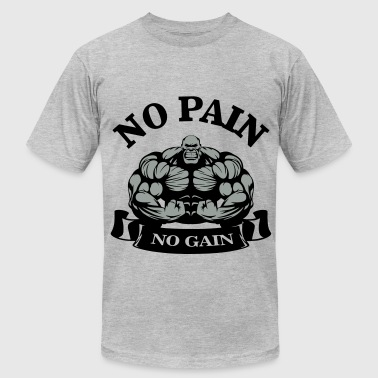 No Pain No Gain - Men's Fine Jersey T-Shirt