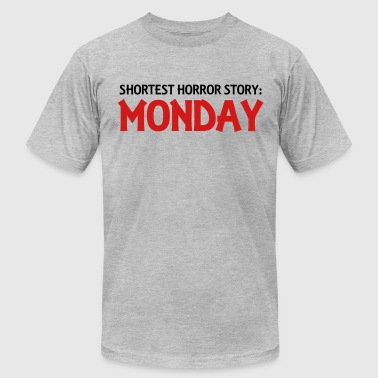 Shortest Horror Story: Monday - Men's Fine Jersey T-Shirt
