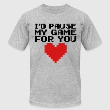 Pause My Game For You  - Men's Fine Jersey T-Shirt