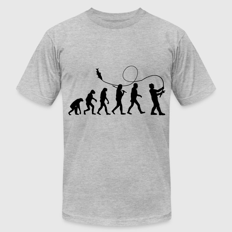 Fishing Evolution  - Men's Fine Jersey T-Shirt