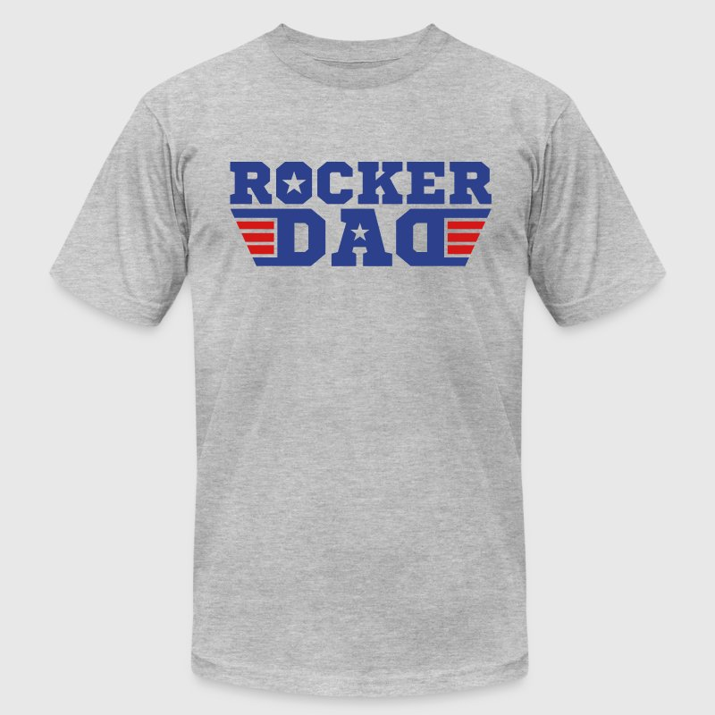 Rocker Dad - Men's Fine Jersey T-Shirt