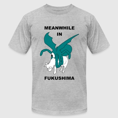 meanwhile in fukushima - Men's Fine Jersey T-Shirt