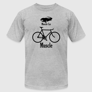 muscle car / muscle - Men's Fine Jersey T-Shirt