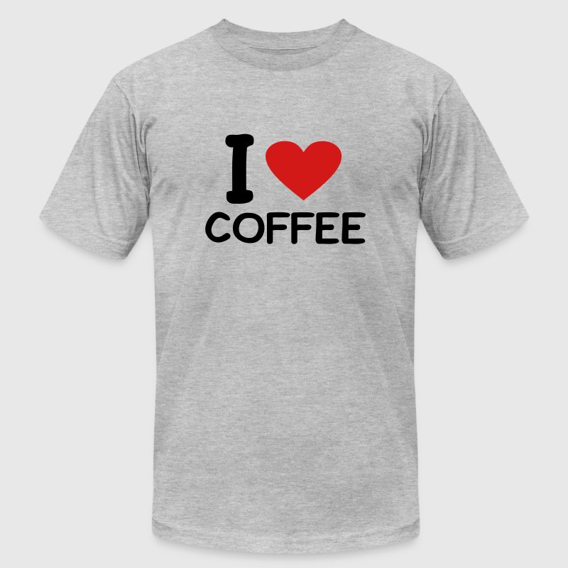 I love Coffee - Men's Fine Jersey T-Shirt