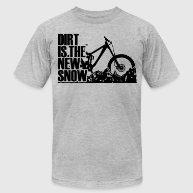 dirt is the new Snow RM - Men's Fine Jersey T-Shirt