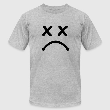 Smiley sad - Men's Fine Jersey T-Shirt