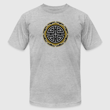 Four blessings, Chinese Good Luck Symbol, Charms - Men's Fine Jersey T-Shirt