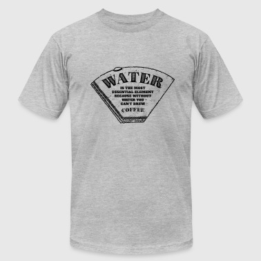 Water is the most essential element - Men's Fine Jersey T-Shirt