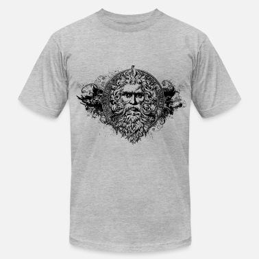 Dope Greek Greek God - Men's  Jersey T-Shirt