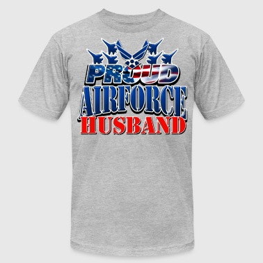 Proud Airforce Husband - Men's Fine Jersey T-Shirt