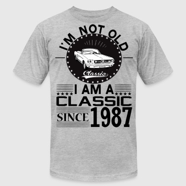 Classic since 1987 - Men's Fine Jersey T-Shirt