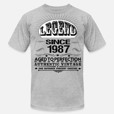 Legend Since 1987 LEGEND SINCE 1987 - Men's  Jersey T-Shirt