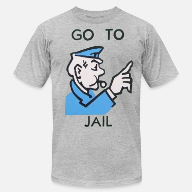 Monopoly Go To Jail - Men's Fine Jersey T-Shirt