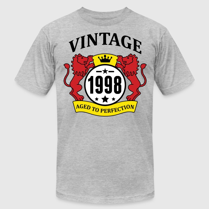 Vintage 1998 Aged to Perfection - Men's Fine Jersey T-Shirt